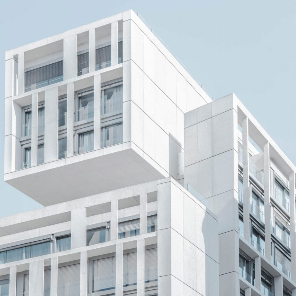 mixed use architecture building